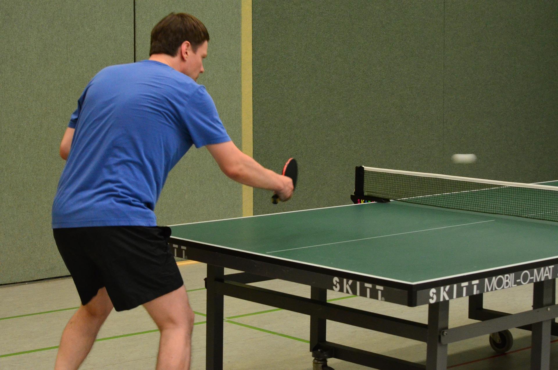 Ingolf Derkow Tischtennis Beitrag Tischtennis Training