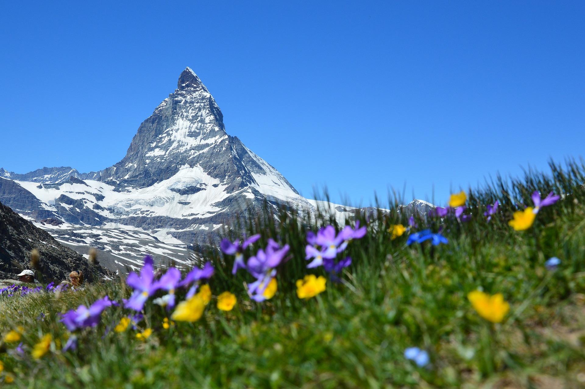 Ingolf Derkow und das Bergwandern Alpen Matterhorn-1516733_1920