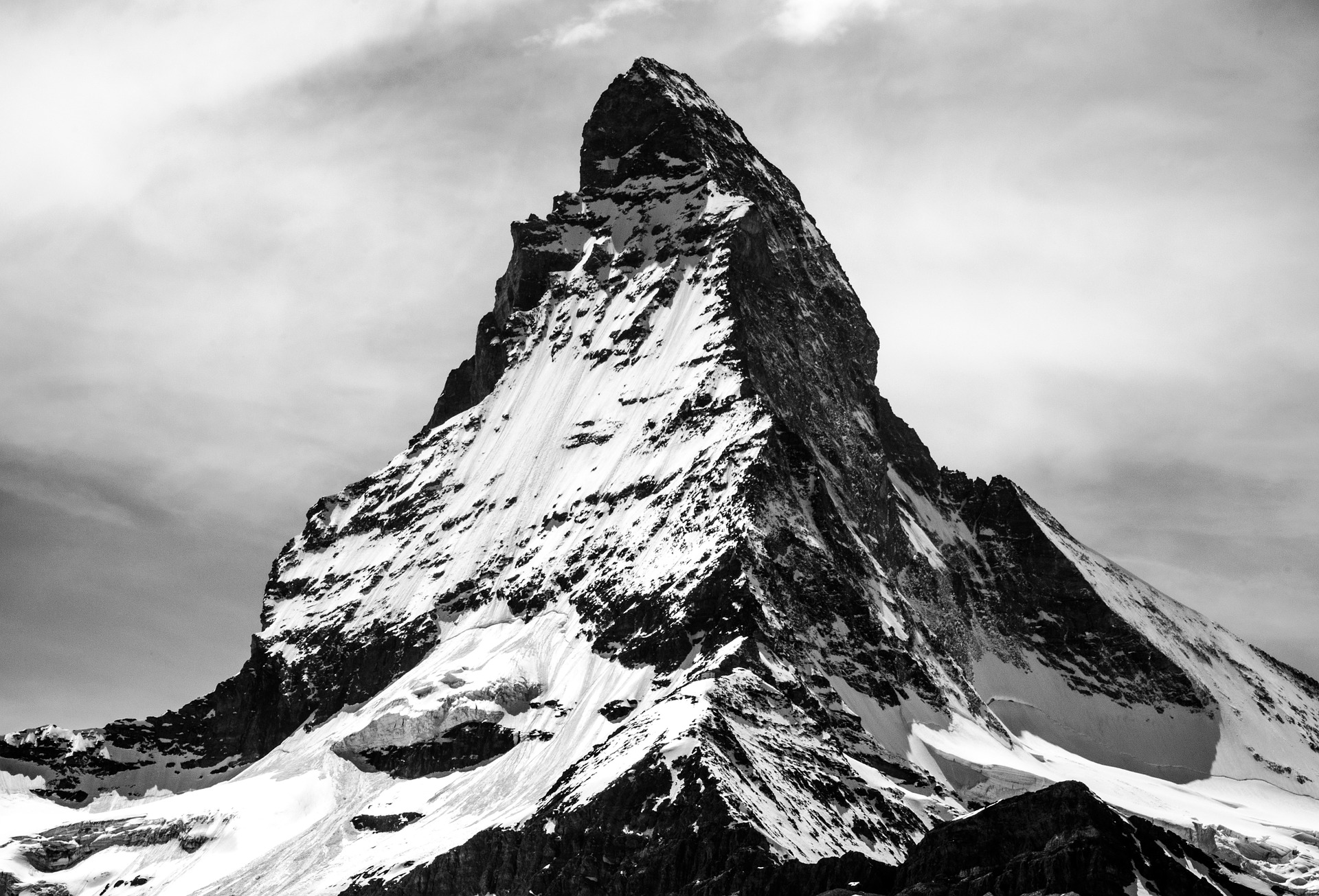 Ingolf Derkow und das Bergwandern Alpen Matterhorn-918442_1920