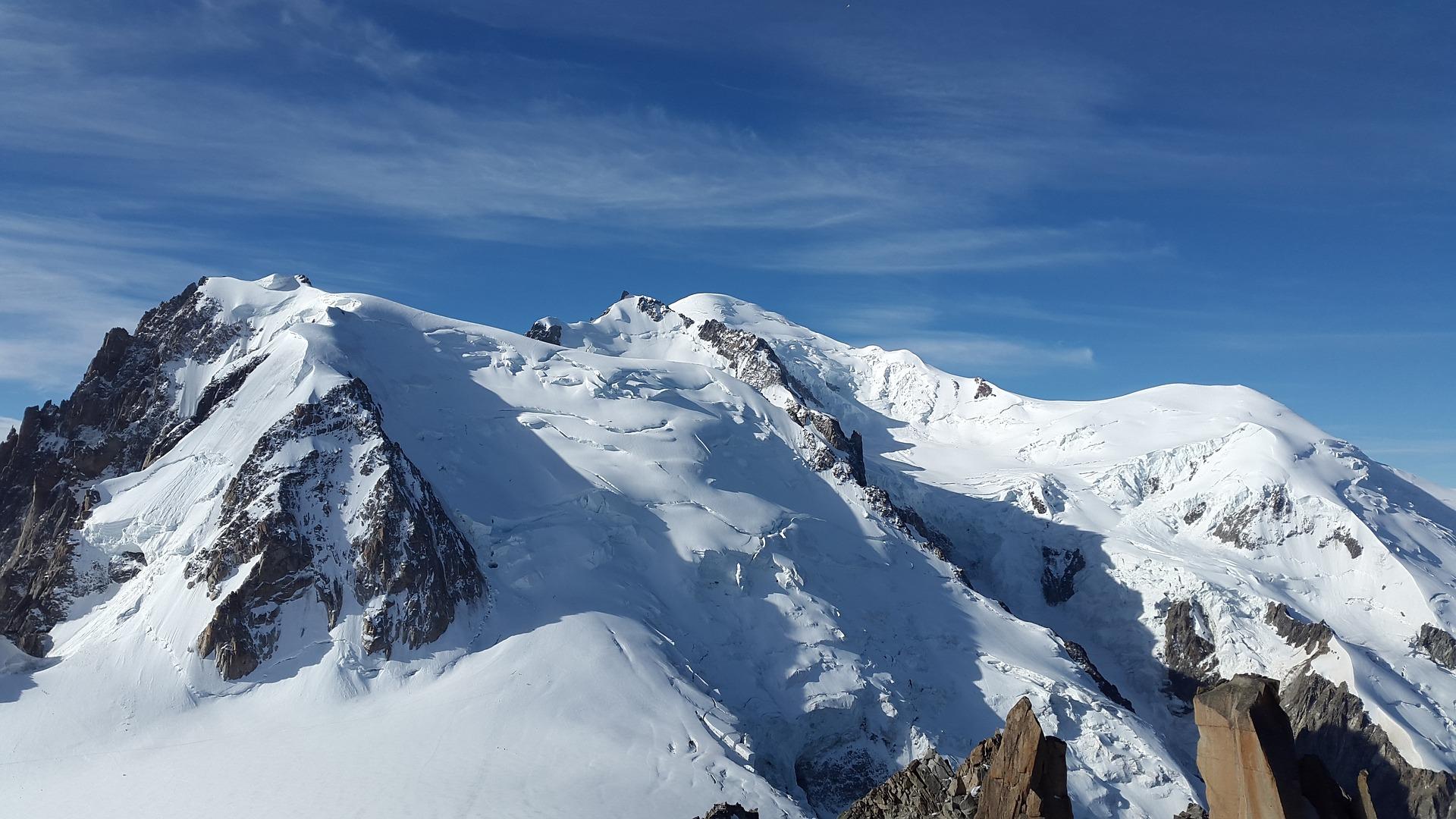 Ingolf Derkow und das Bergwandern Alpen mont-blanc