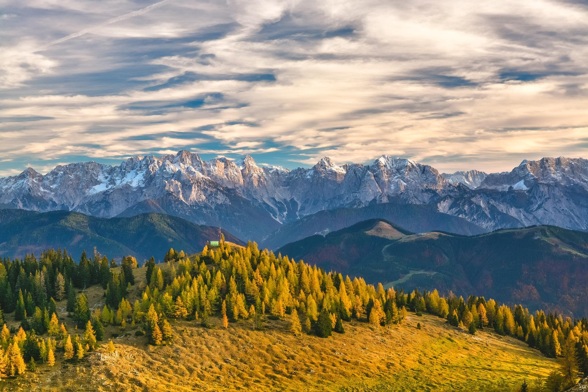 Ingolf Derkow und das Bergwandern Alpen mountain