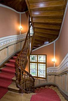 GRK Holding Aktiengesellschaft Gebäude Treppe innen