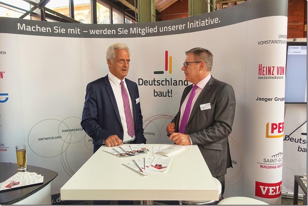 Deutschland baut! zeigt erneut Präsenz beim Tag der Deutschen Bauindustrie