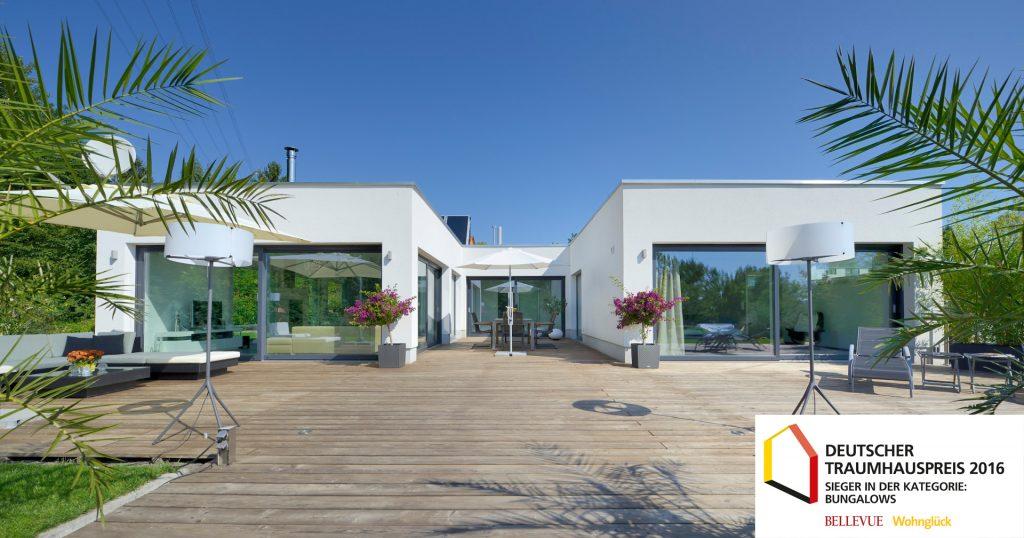 Design-Bungalow von Heinz von Heiden belegt zweiten Platz beim Deutschen Traumhauspreis 2016