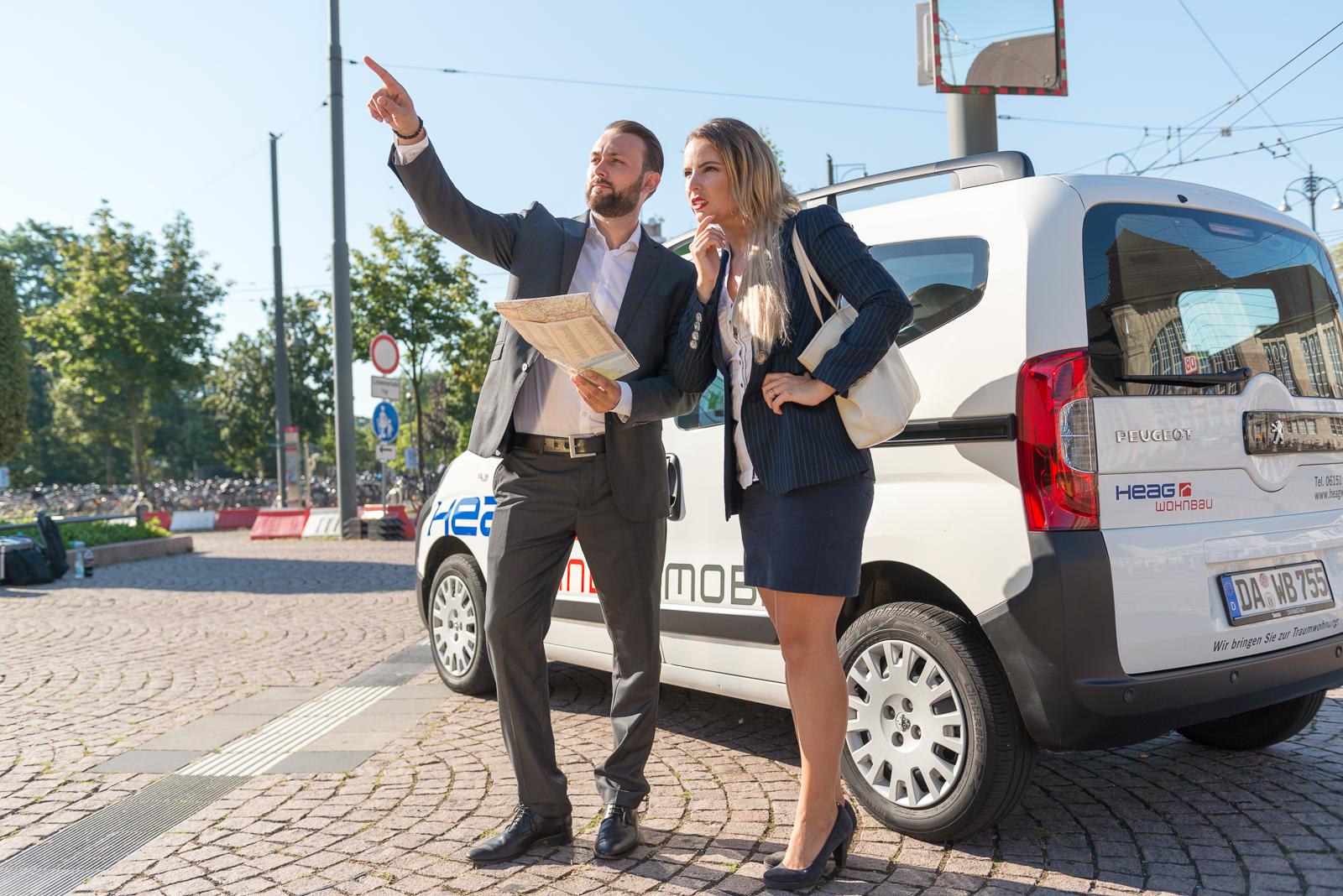 Das HEAG Wohnbaumobil -Mobiler Besichtigungsservice für Mietinteressenten